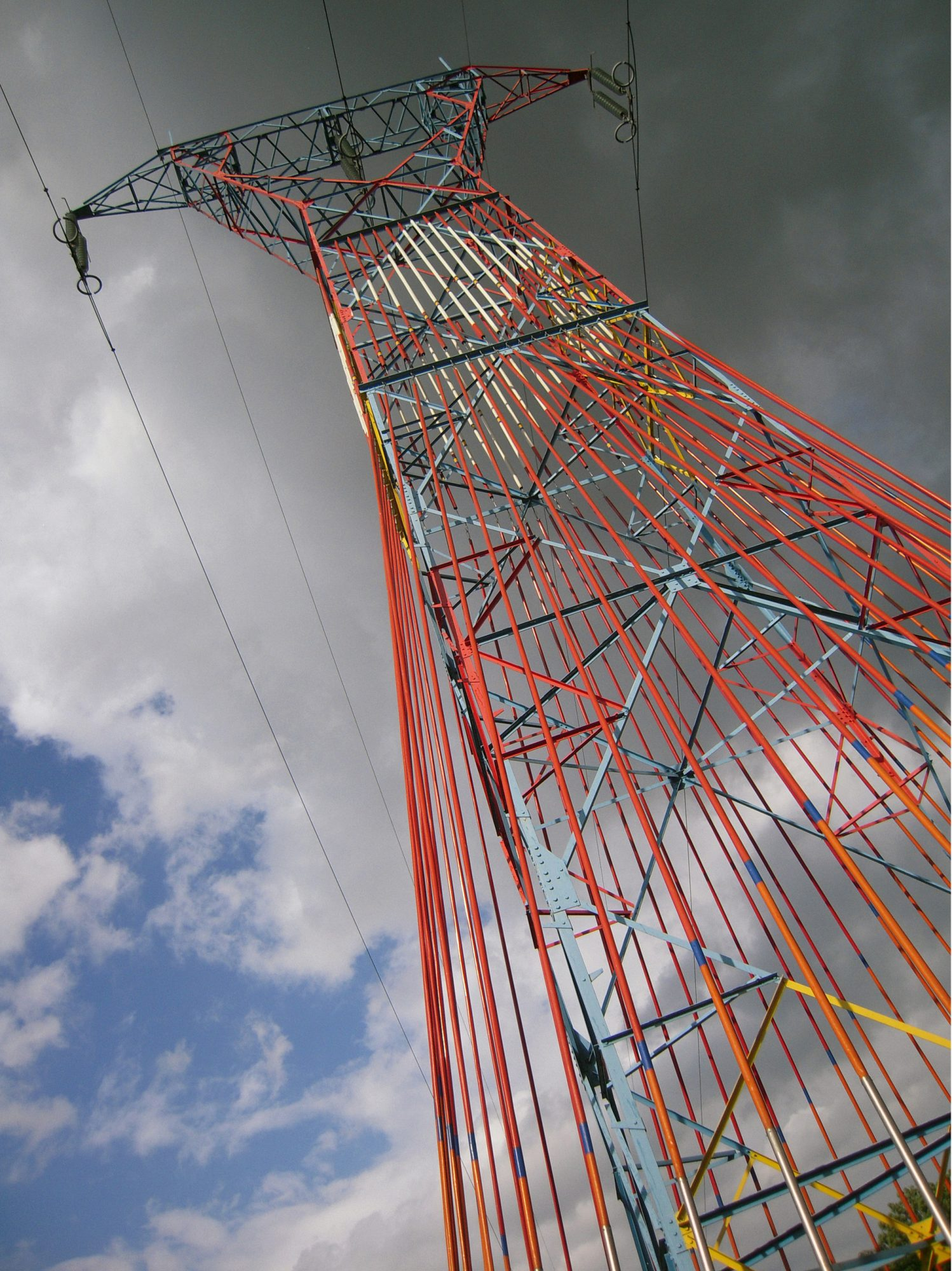 Source-Flame, pylon nb°13