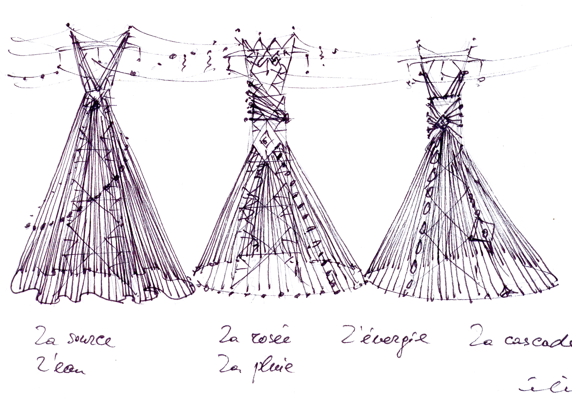 Fashion Show for Electricity Pylons