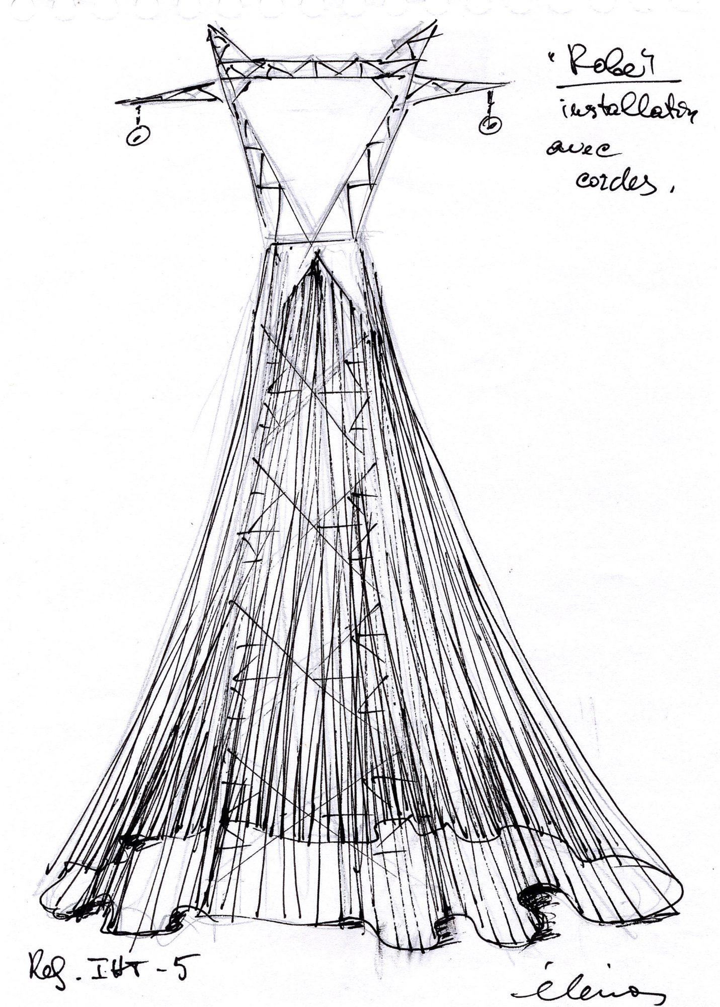 Fashion Dress for Electric Pylon