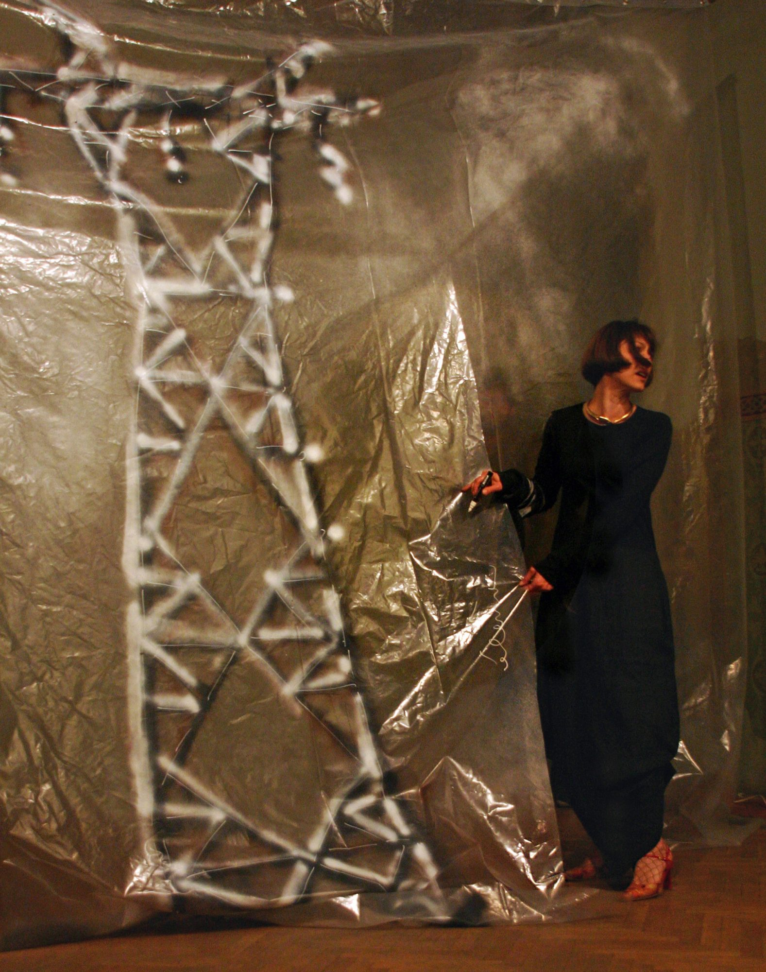 Electric Art performance, Sofia, 2005