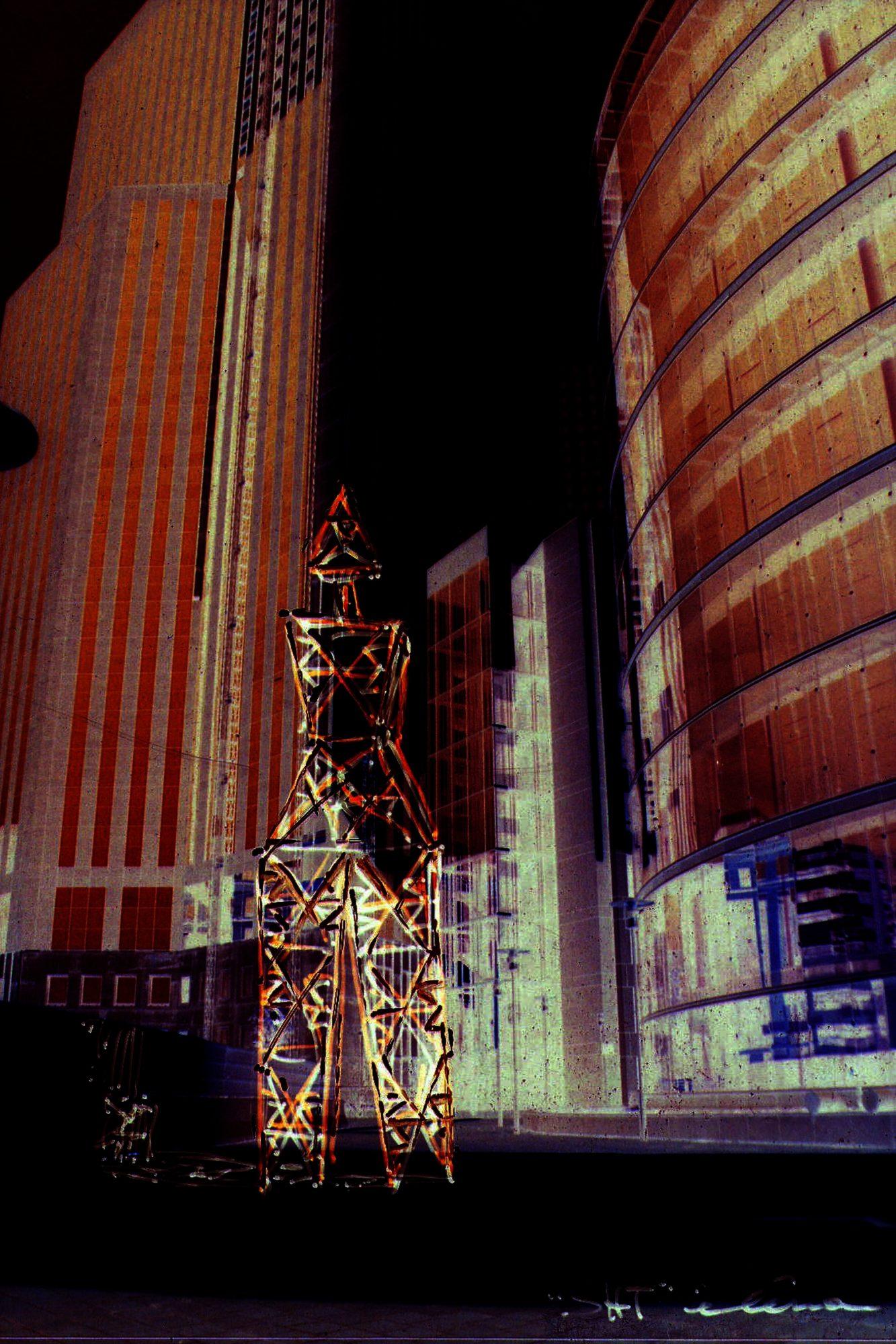 Ladies, Sculpture-Pylons
