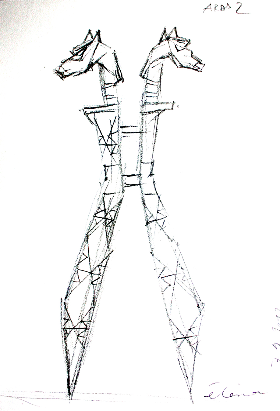 Aros, Viking pylon