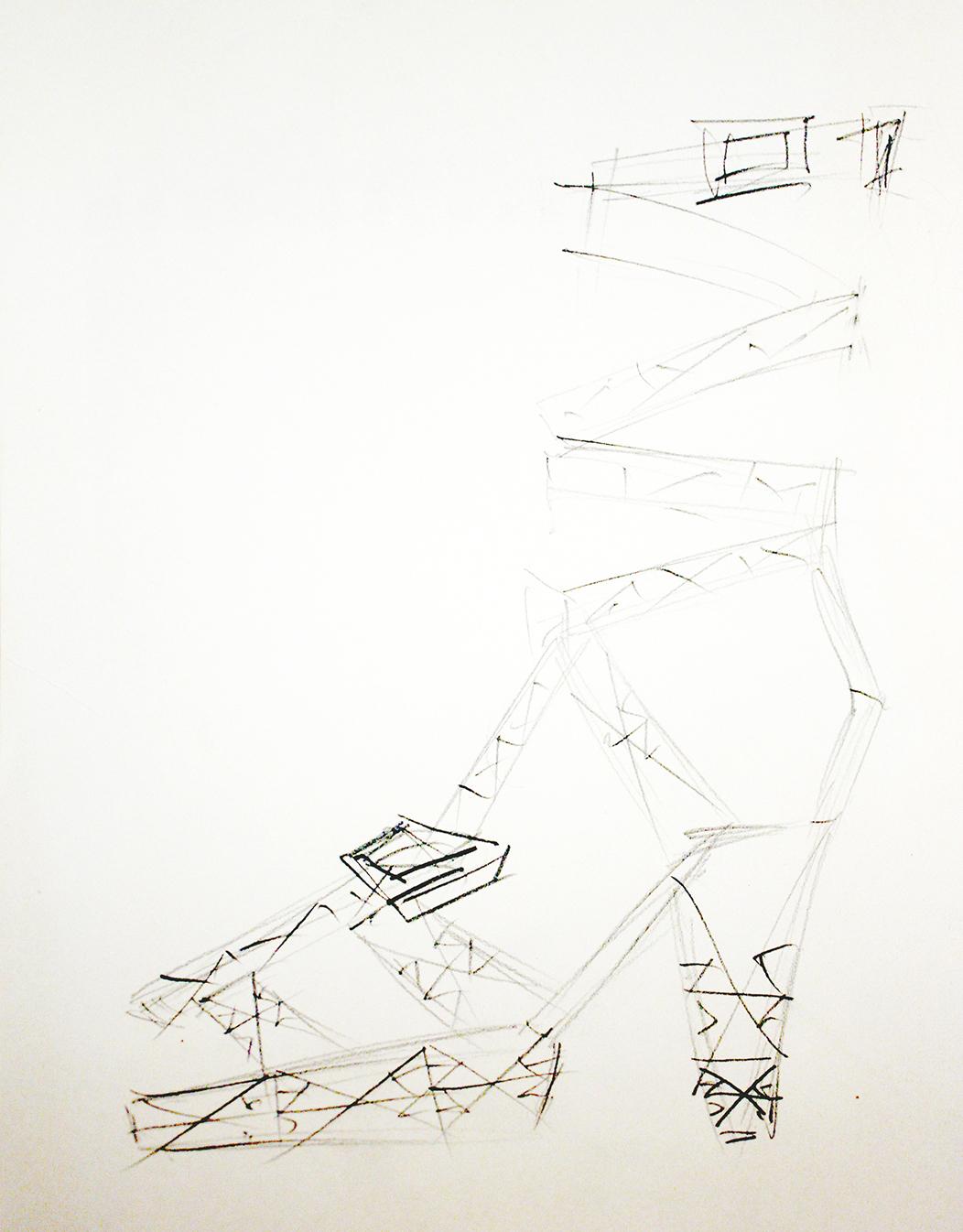 Shoe, Pylon-Sculpture