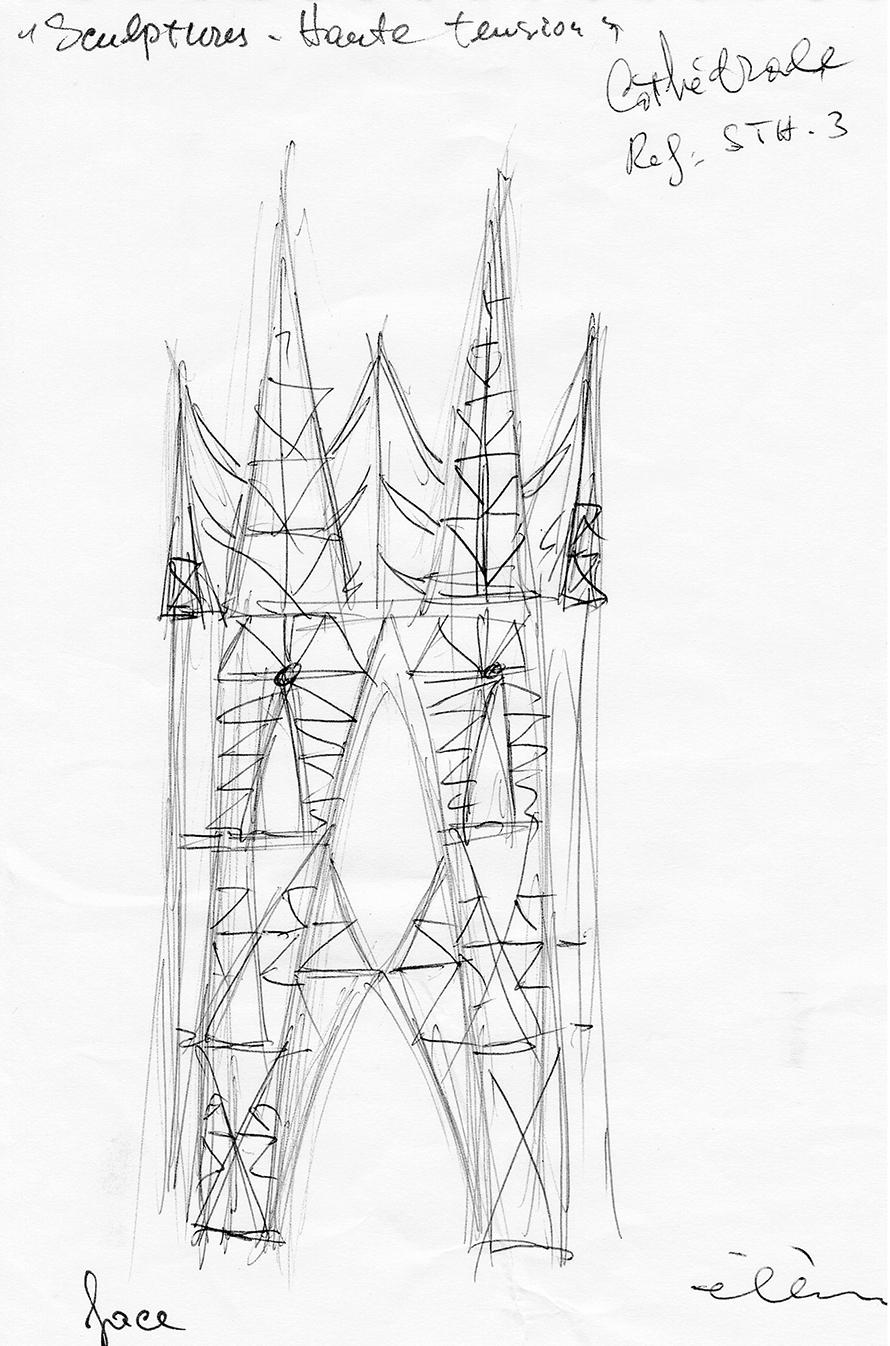 Cathedral, pylon