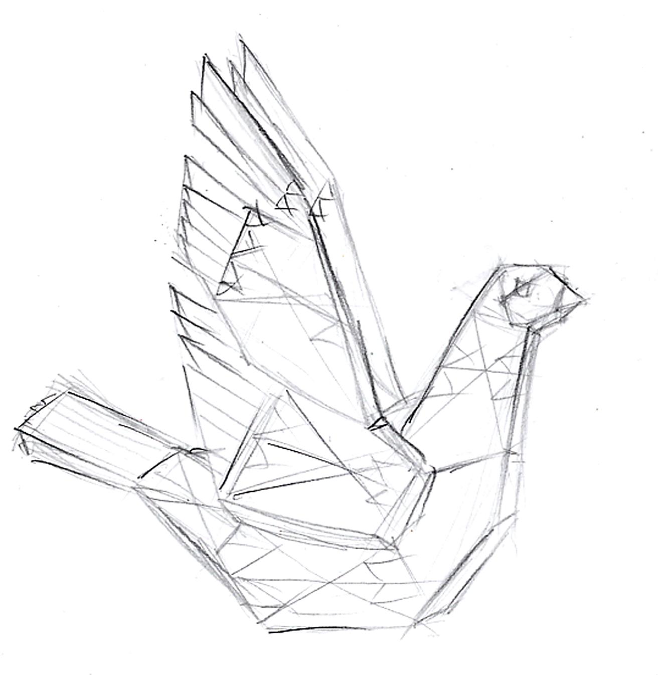 Bird, pylon
