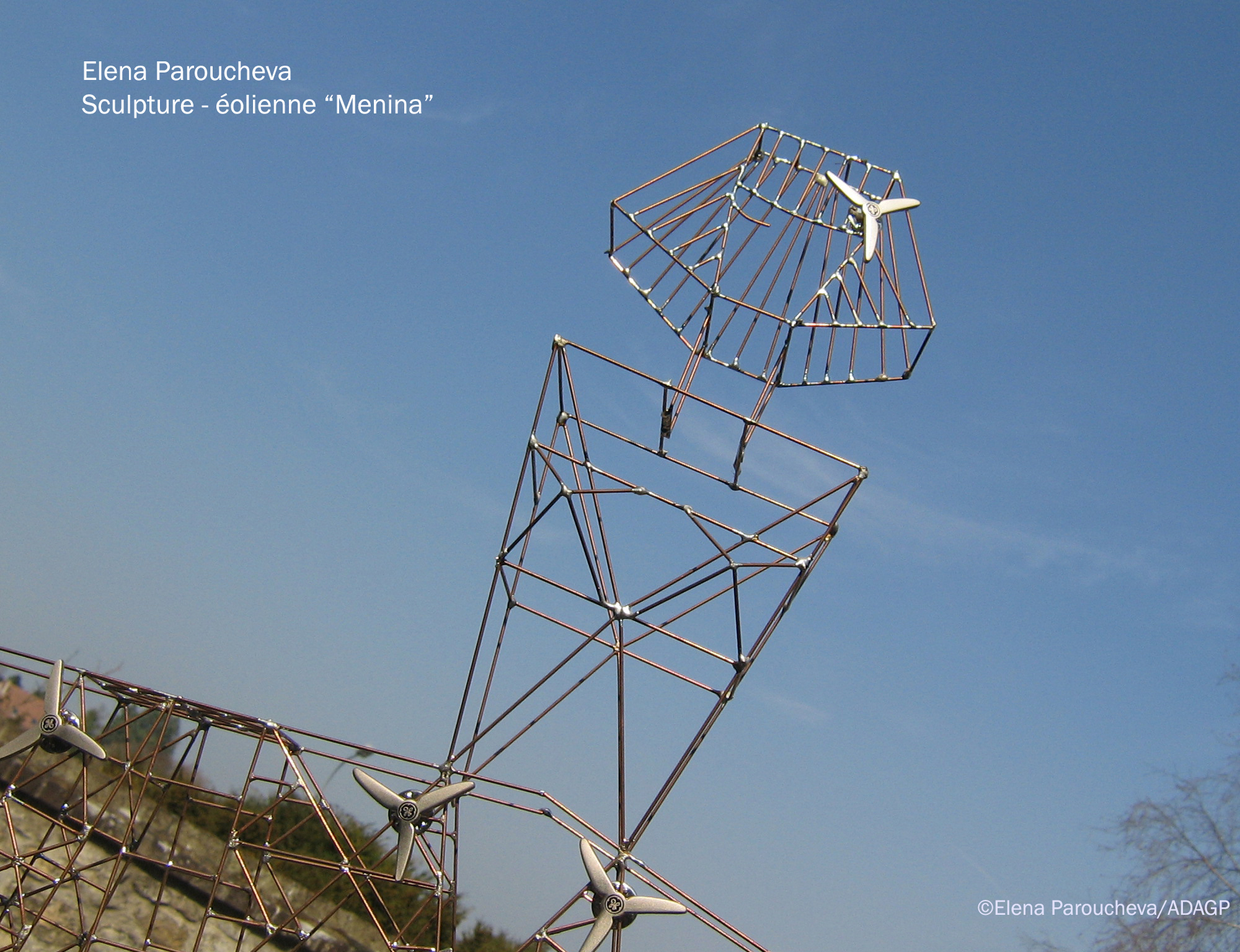 Menina, wind mast