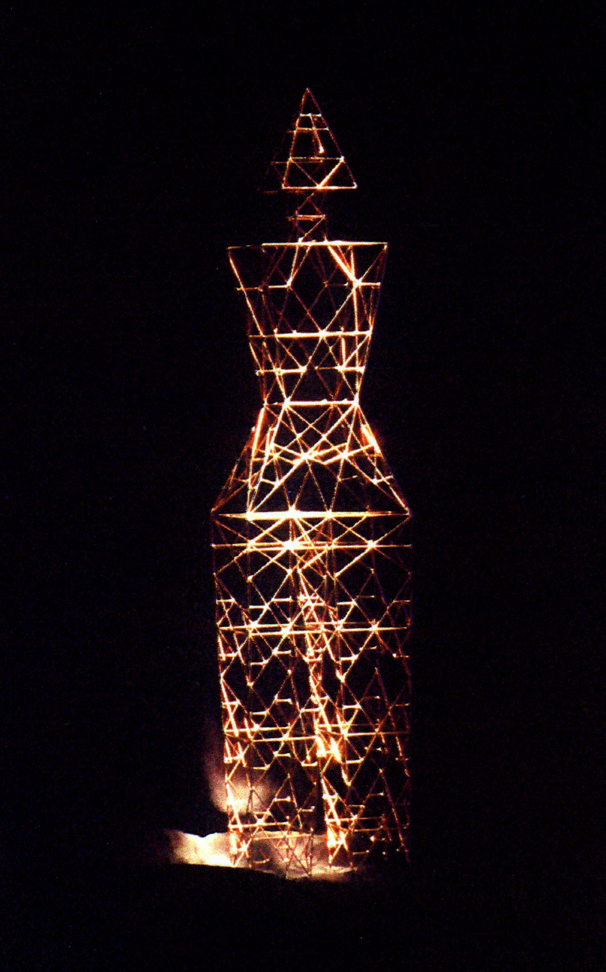 Humanoid Sculpture-Pylon