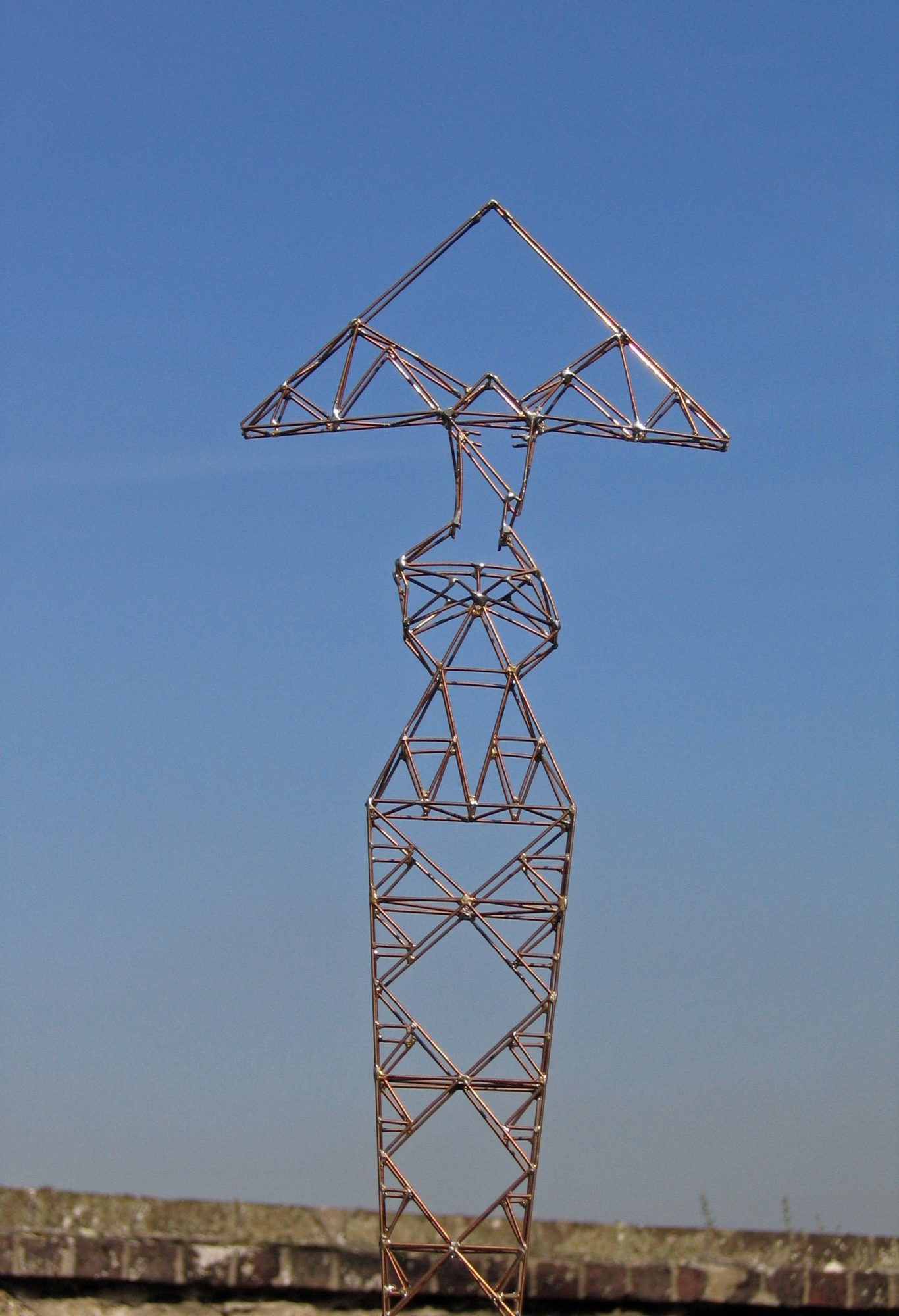 Lisa, Sculpture-Pylon