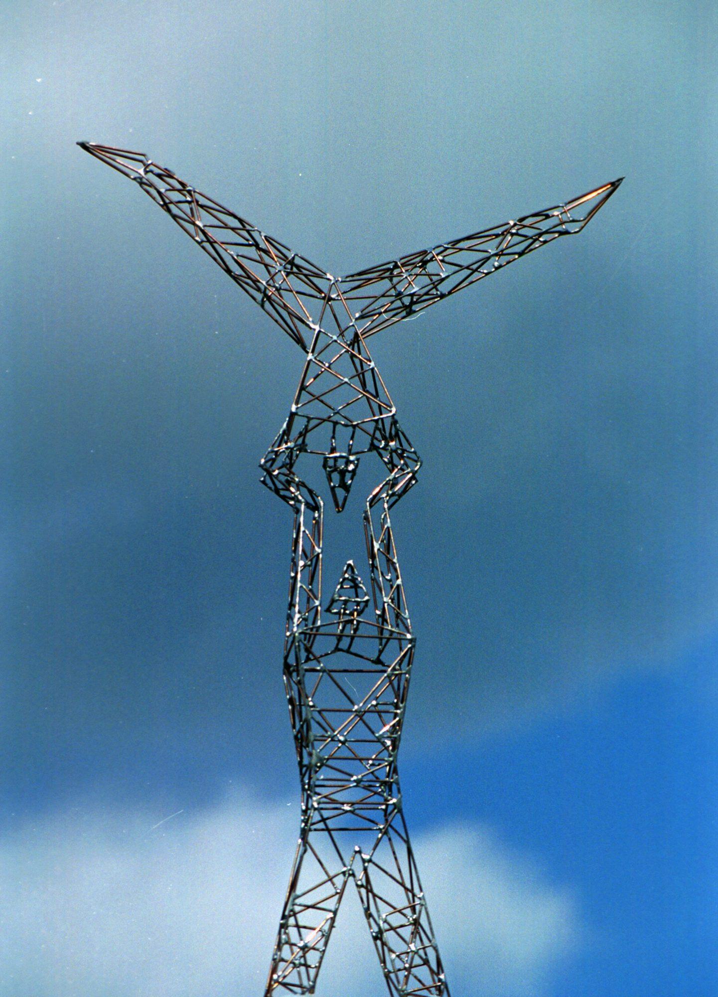 Acrobats, Sculpture-Pylon