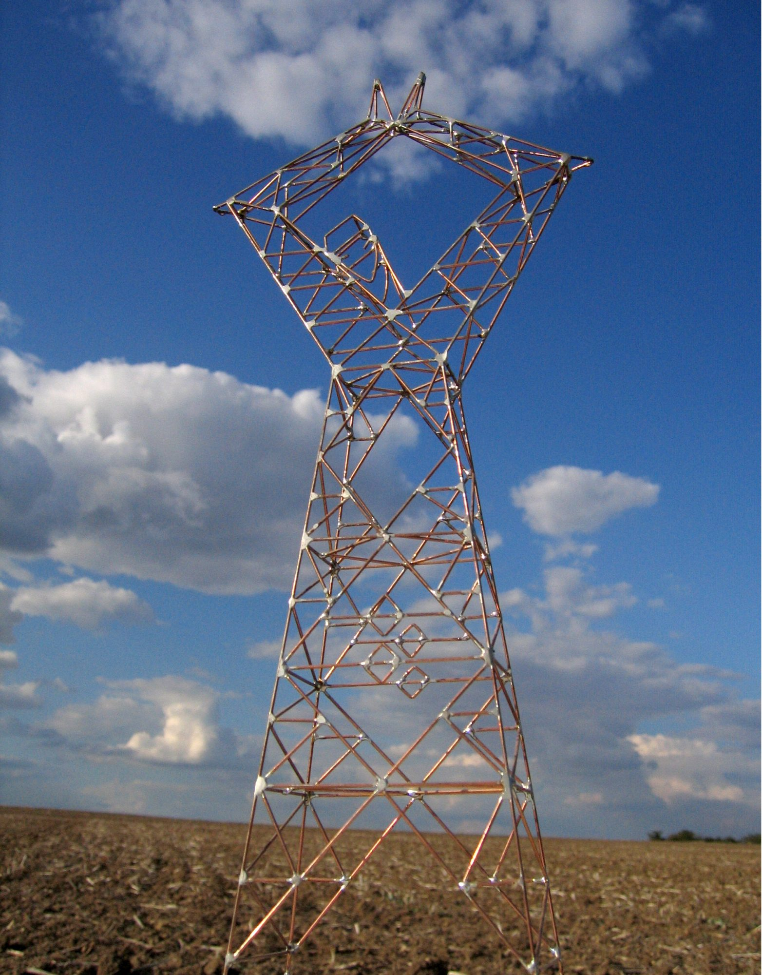 Melina, Sculpture-Pylon