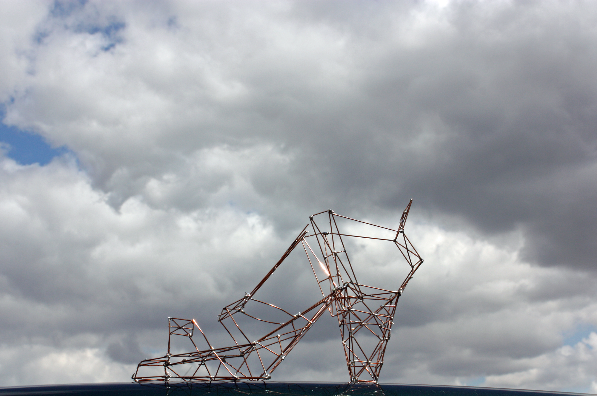 Shoe, Sculpture-Pylon
