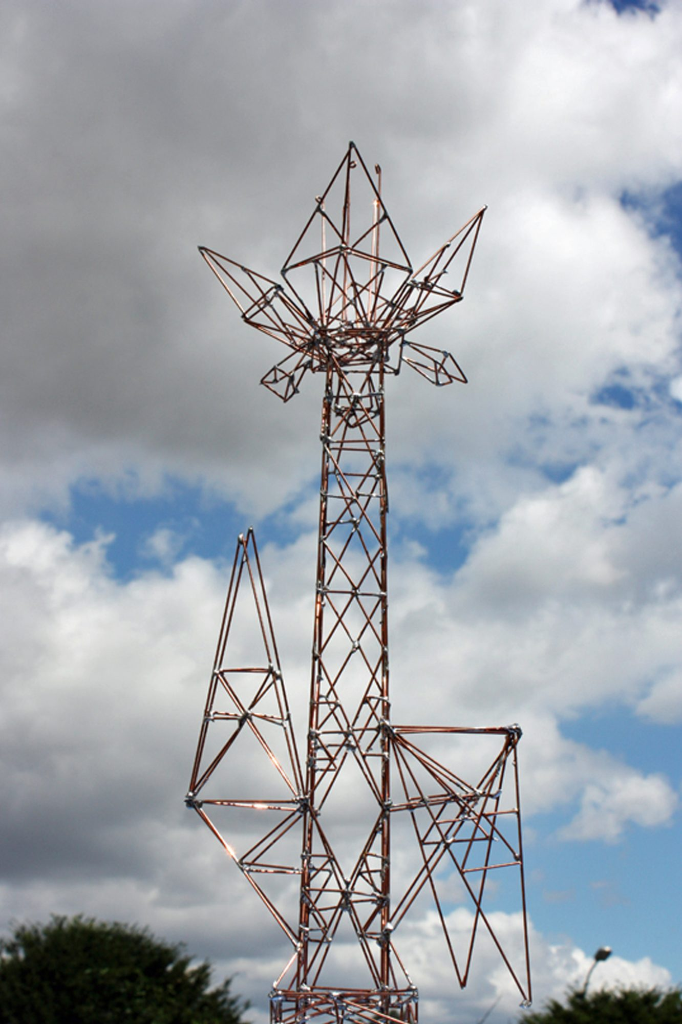 Flower, Sculpture-Pylon