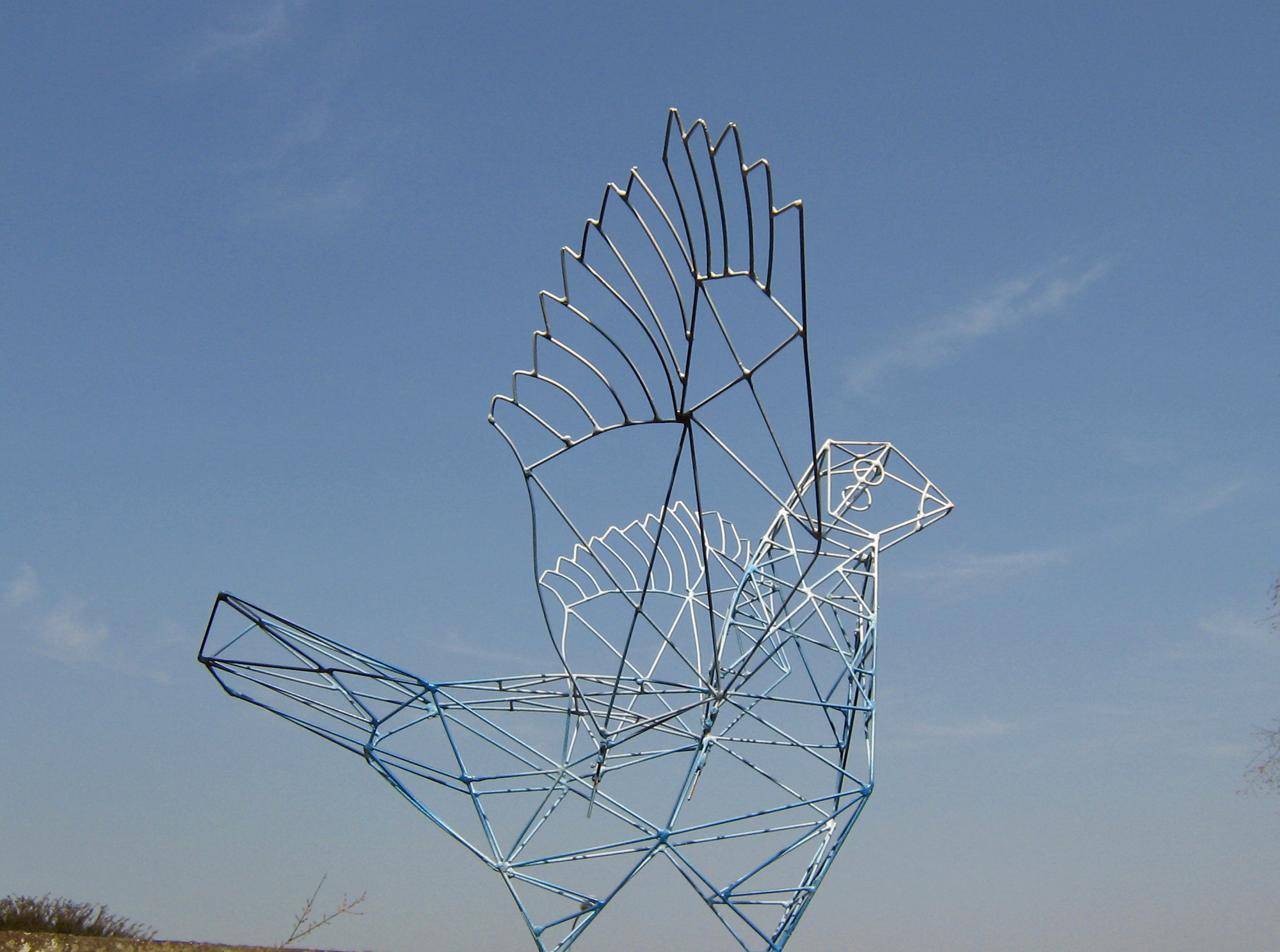 Bird, Sculpture-Pylon