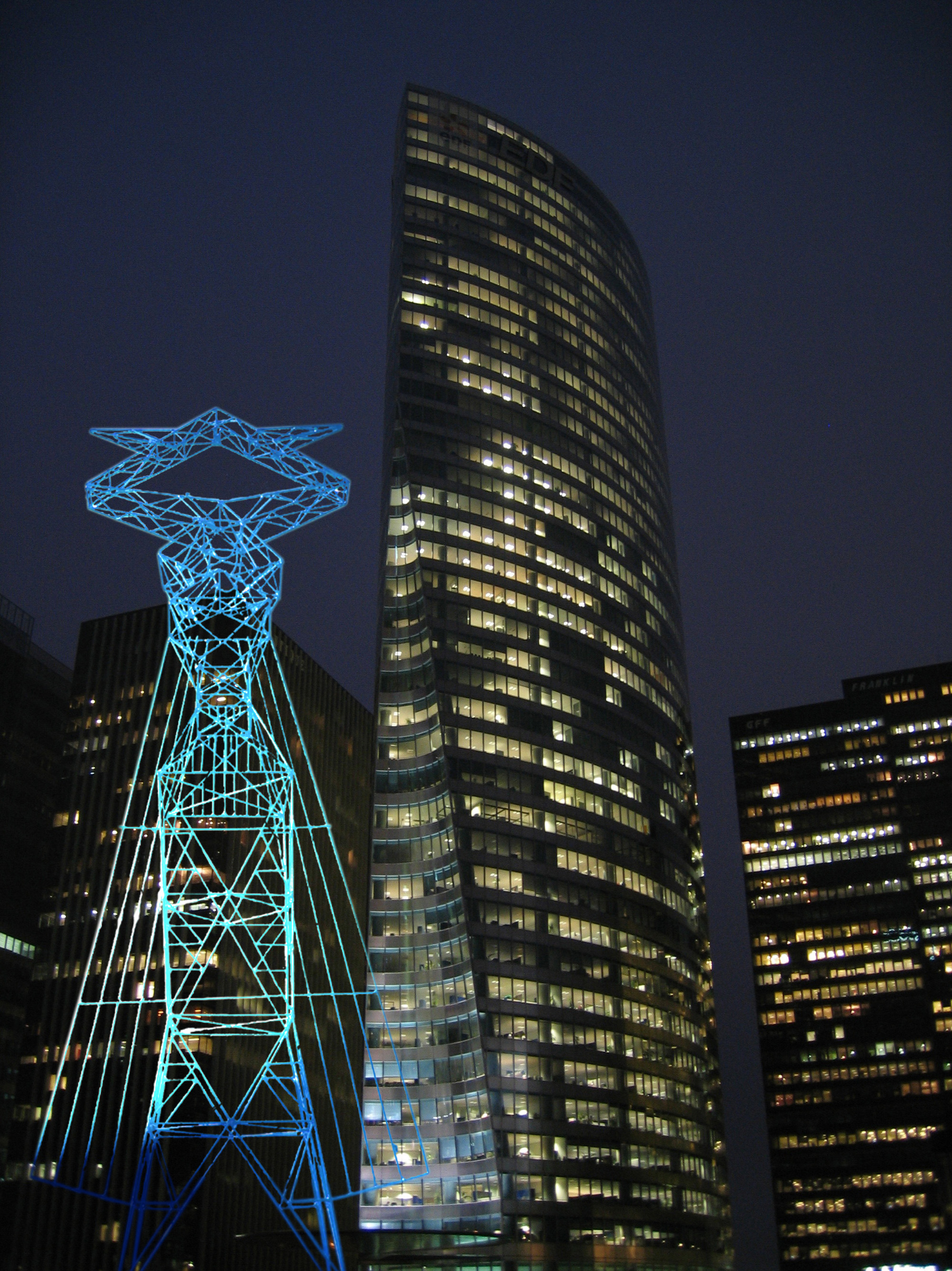 Livia, Sculpture-Pylon, project