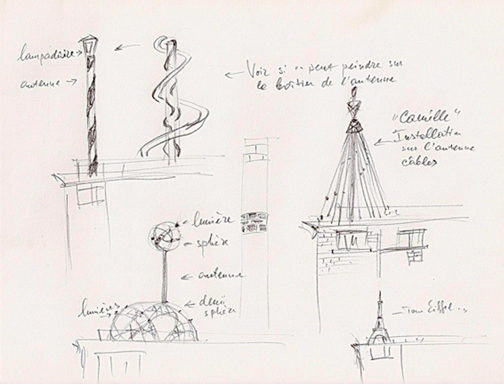 Telecom-Masts, projects