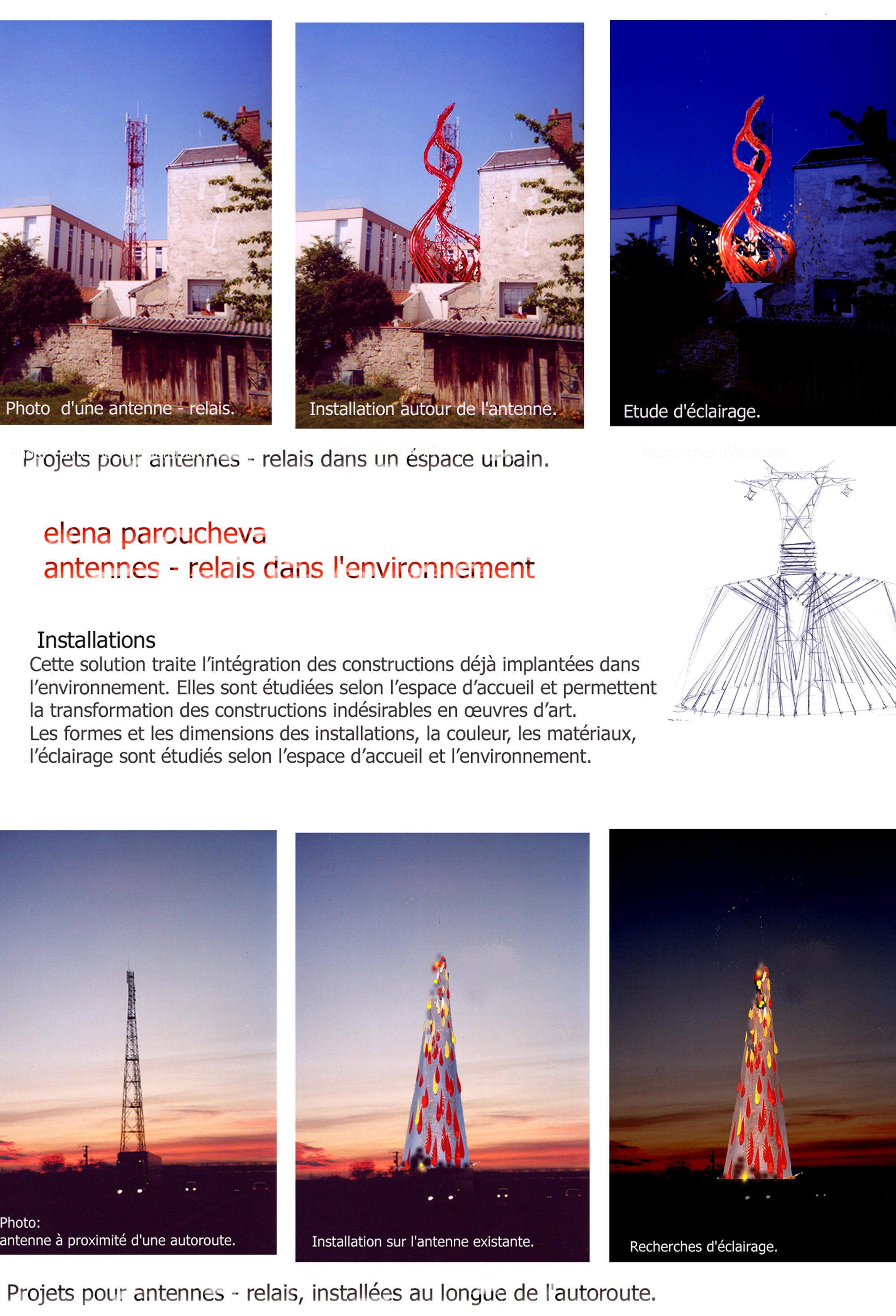 Telecom towers, projects
